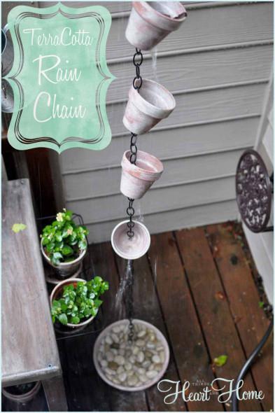 8. Rain Chain DIY
