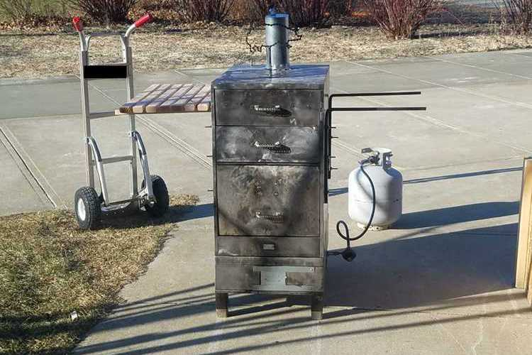 DIY Filing Cabinet Smoker Projects