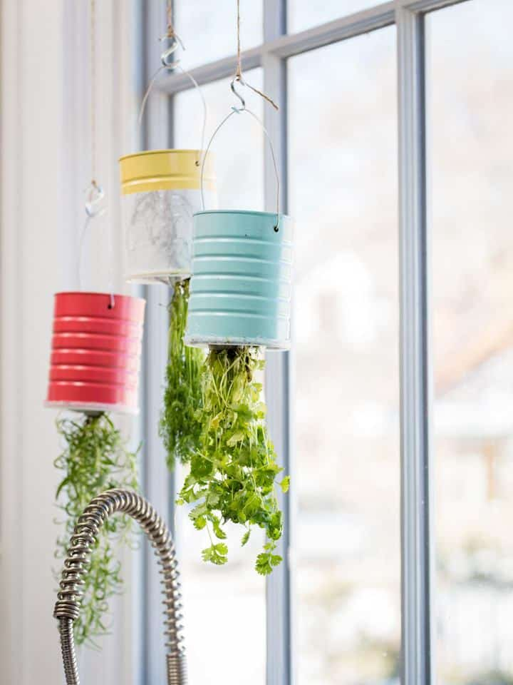 DIY Hanging Herb Garden Ideas