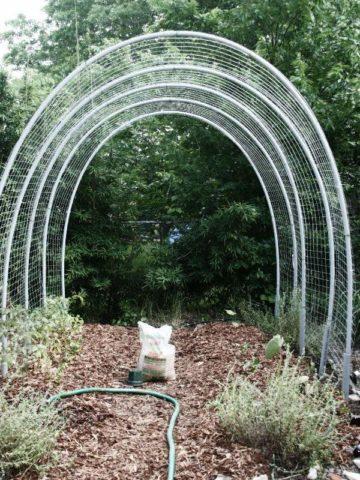DIY Hoop House Plans