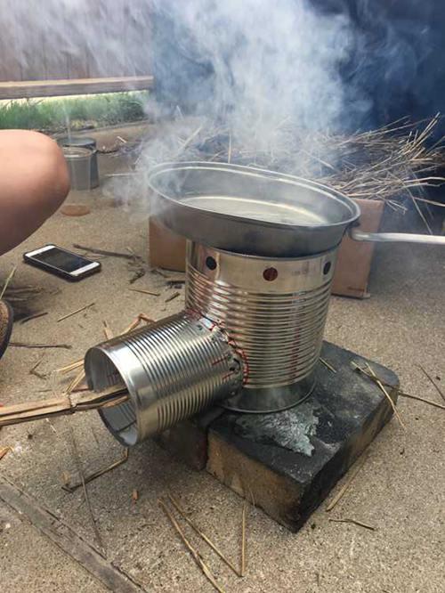 DIY Rocket Stove