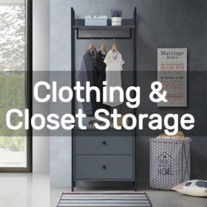 Diy Clothing & Closet Storage Projects