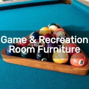 Diy Game & Recreation Room Furniture Projects