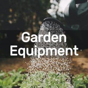 DIY Garden Equipment Projects