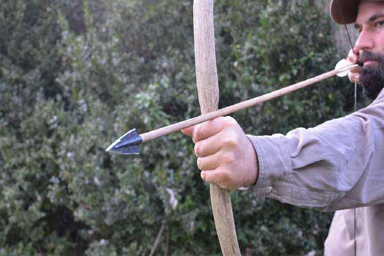 Homemade Bow And Arrows