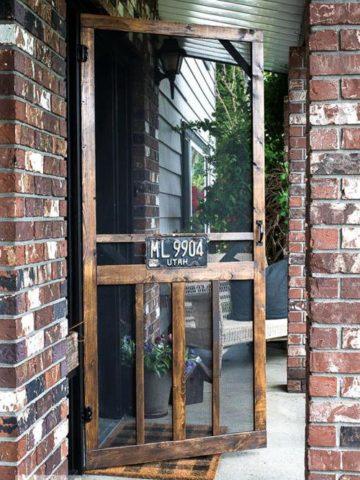 Homemade Screen Door Plans