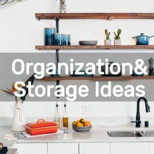 Kitchen Storage & Organization Ideas