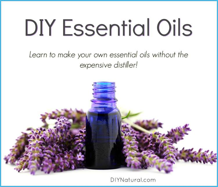 1. At-Home DIY Essential Oil