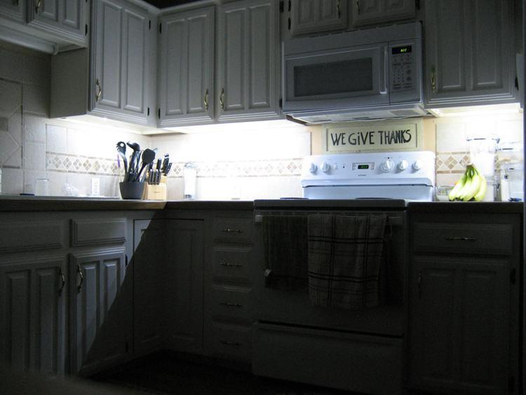 1. Under Cabinet Lighting DIY