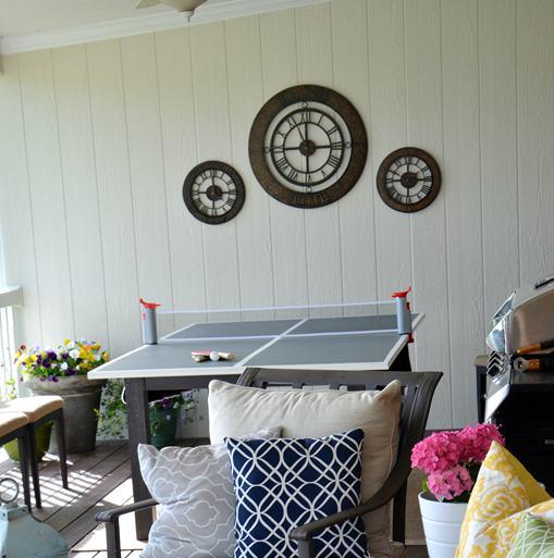 10. DIY Ping Pong Table