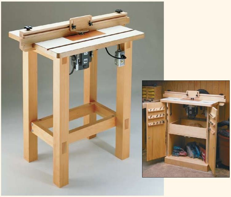 10. Router Table Plan DIY