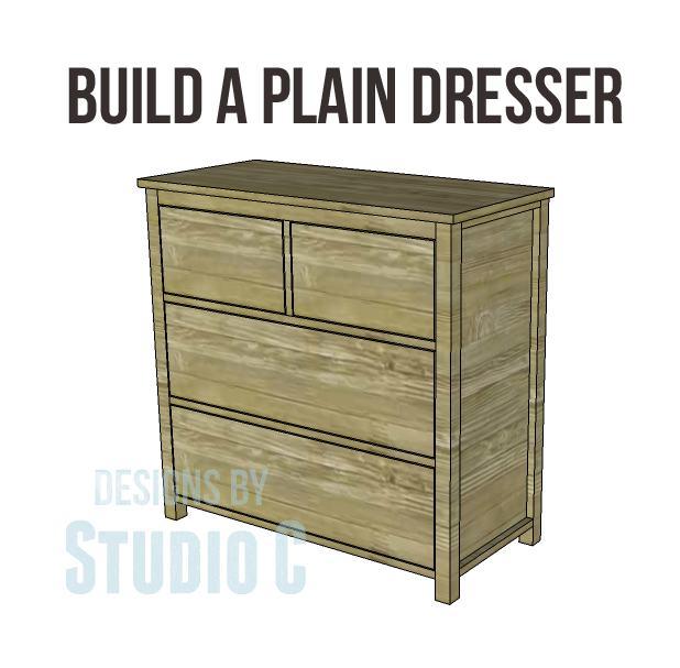 12. DIY Dresser Plan