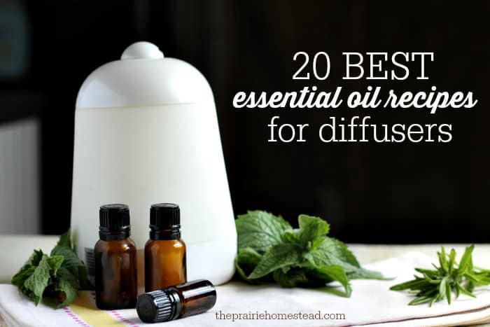 12. Essential Oils for Diffuser