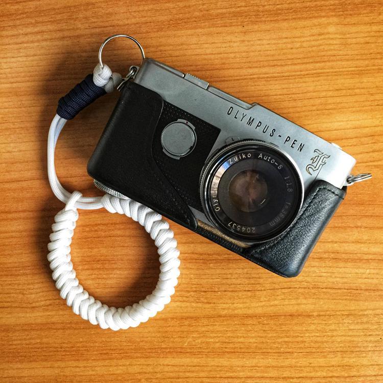 13. DIY Paracord Camera Strap