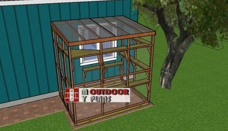 14. How To Build A 6x8 Catio