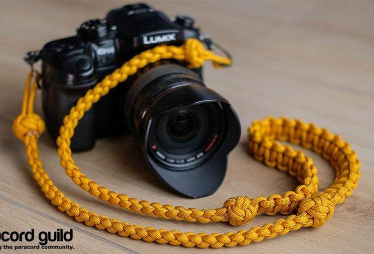 15. DIY Paracord Camera Neck Strap