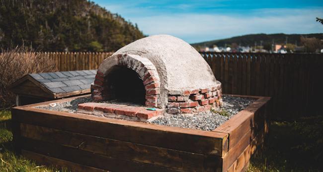 15. DIY Pizza Oven