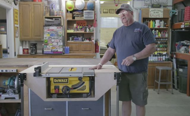 15. How To Build A Table For Your Table Saw