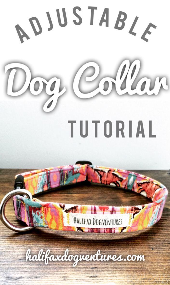 15. How To Make An Adjustable Dog Collar