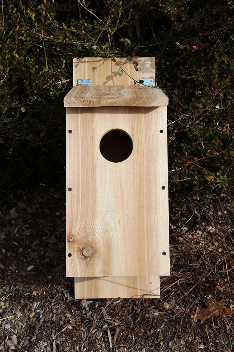 16. DIY Owl House With Cedar Board