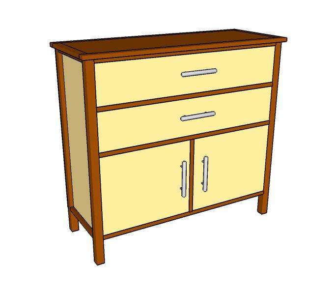 17. DIY Simple Dresser Plan