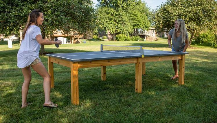 17. How To Make An Outdoor Ping Pong Table