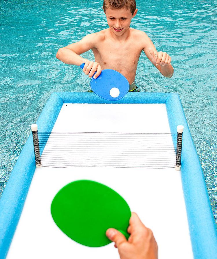 18. DIY Floating Ping Pong Table