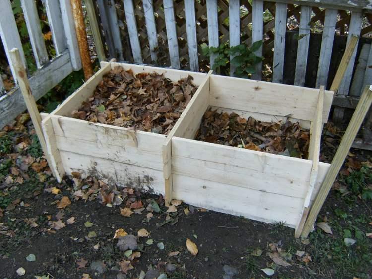 18. DIY Twin Compost Bin