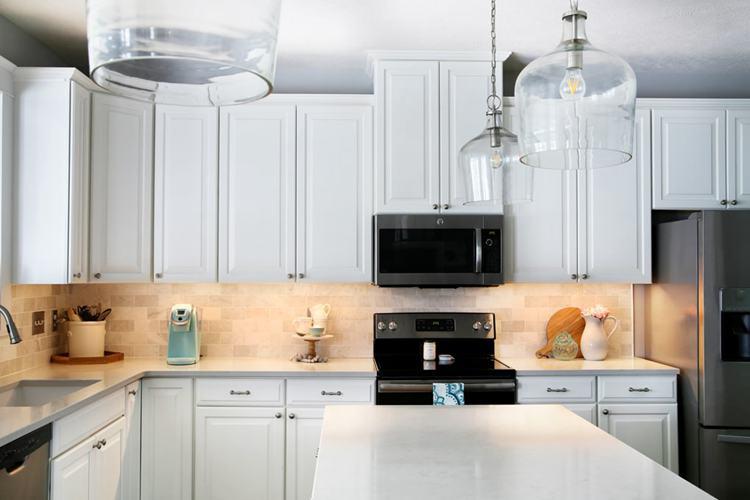 18. DIY Under Cabinet Lighting