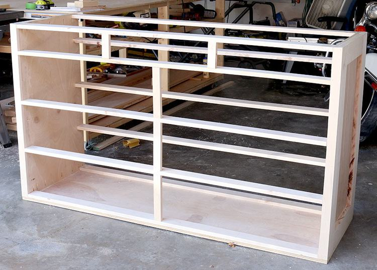 19. DIY 11 Drawer Dresser