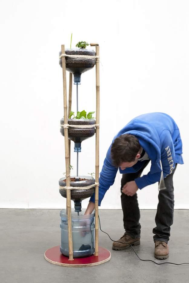 19. Miniponics Garden Tower