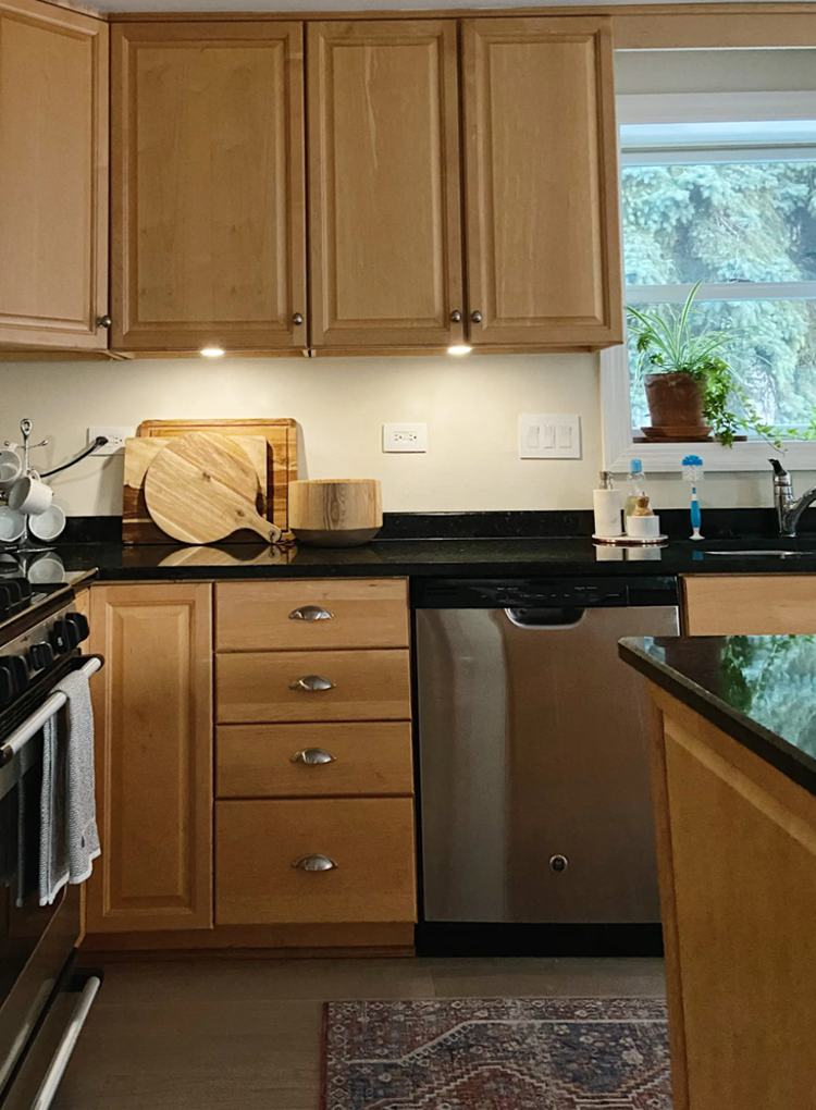 19. Under Kitchen Cabinet Lighting Idea