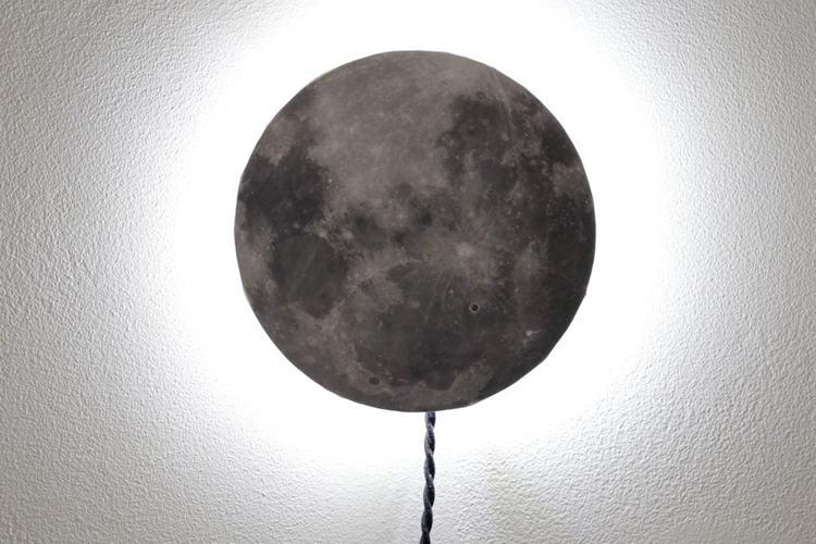 2. DIY Moon Night Light