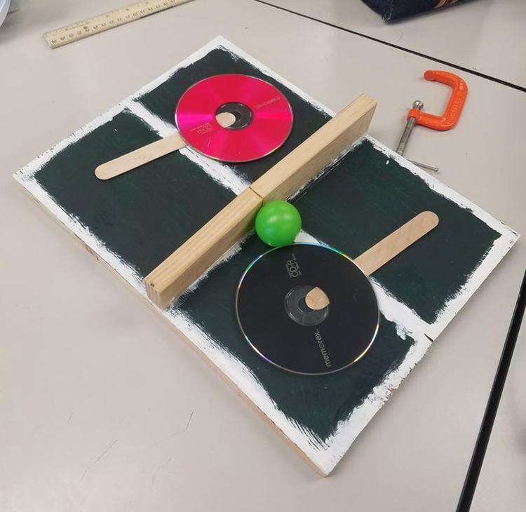 2. DIY Portable Ping Pong Table