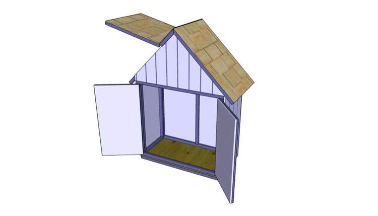 2. DIY Tool Shed Plans
