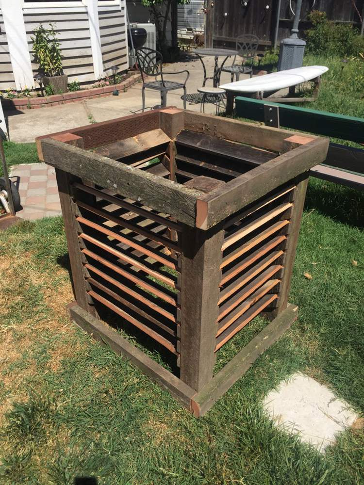 2. DIY Upcycled Compost Bin
