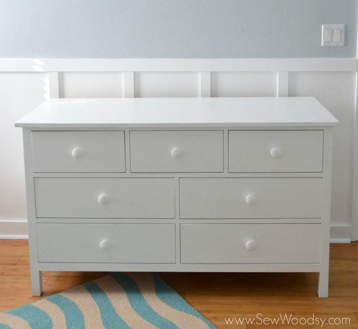 20. DIY Extra Wide Dresser