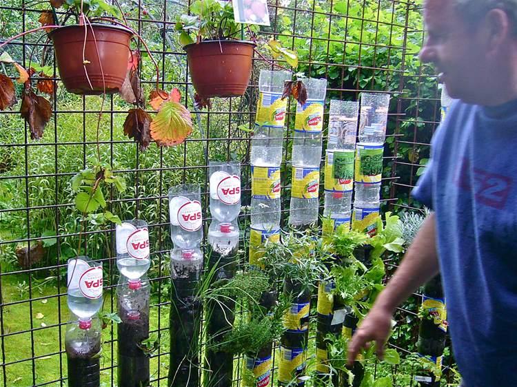 20. DIY Tower Garden