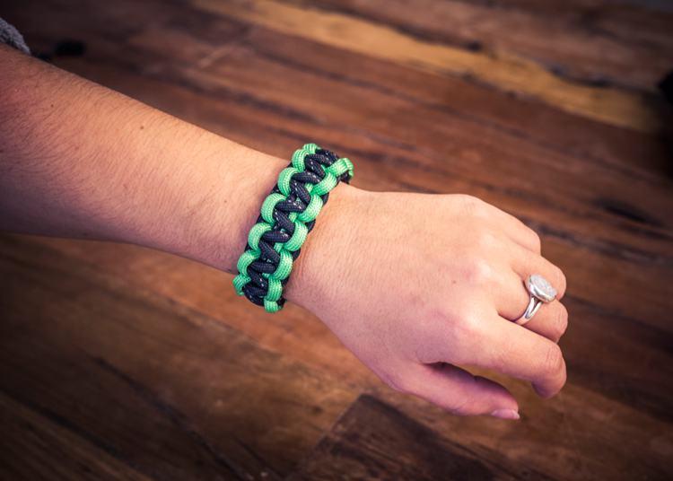 22. DIY Paracord Survival Bracelet