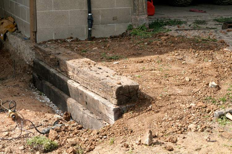 22. How To Build A Railroad Tie Retaining Wall