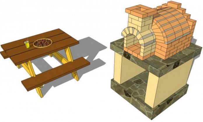 22. Outdoor Pizza Oven DIY