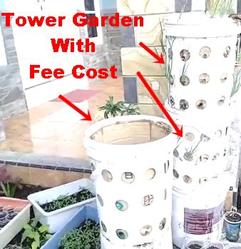 25. DIY Garden Tower