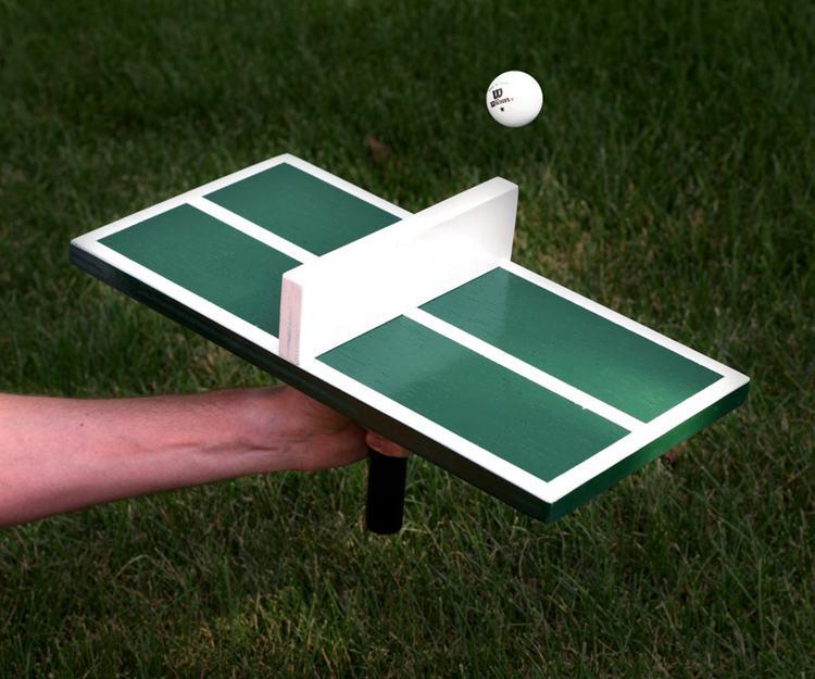 25. DIY Personal Ping Pong