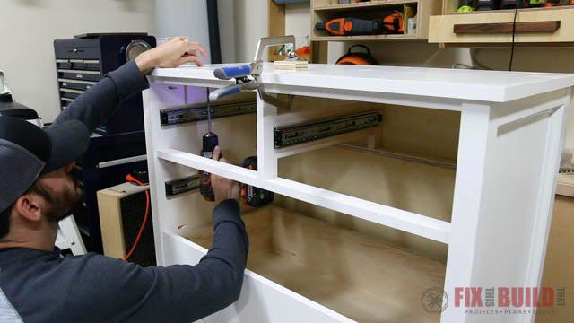 3. DIY 6 Drawer Dresser