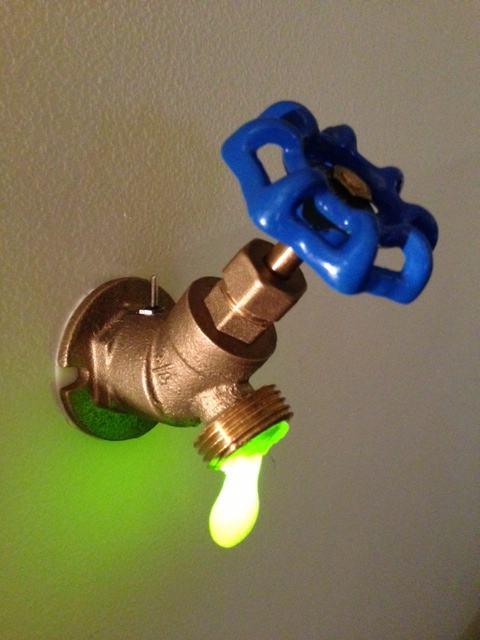3. DIY Faucet Night Light