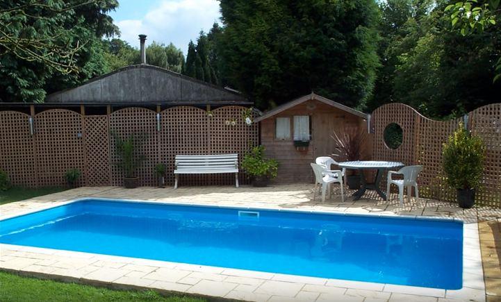 3. DIY Inground Swimming Pool