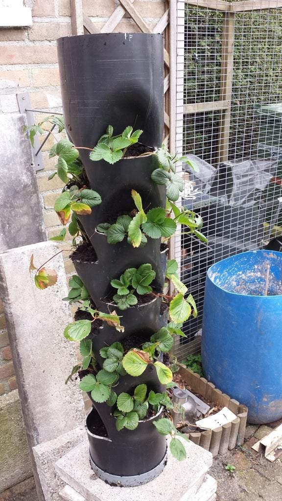3. DIY Plant Tower Garden