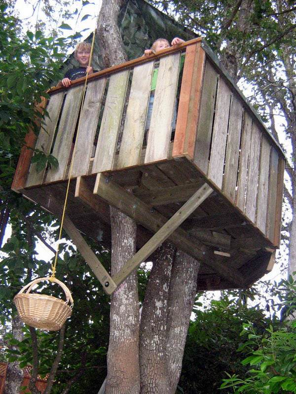 3. How To Build A Treehouse For Kids