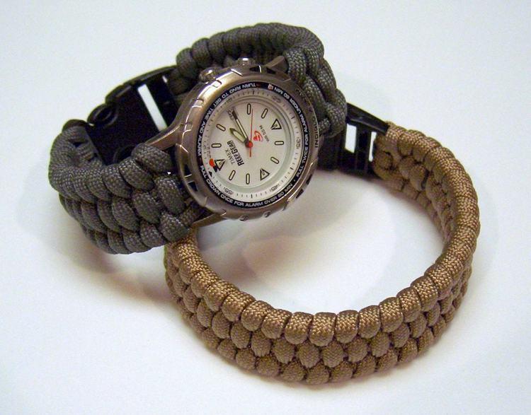 37. DIY Paracord Watch Band