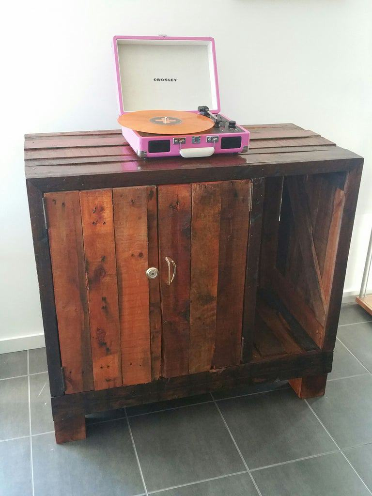 4. DIY Pallet Cabinet